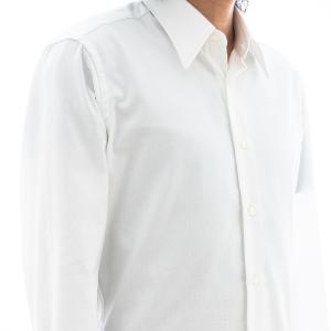 EASY CARE ホワイトロイヤルオックスフォードシャツ