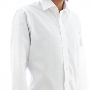 BASIC ホワイトロイヤルオックスフォードシャツ